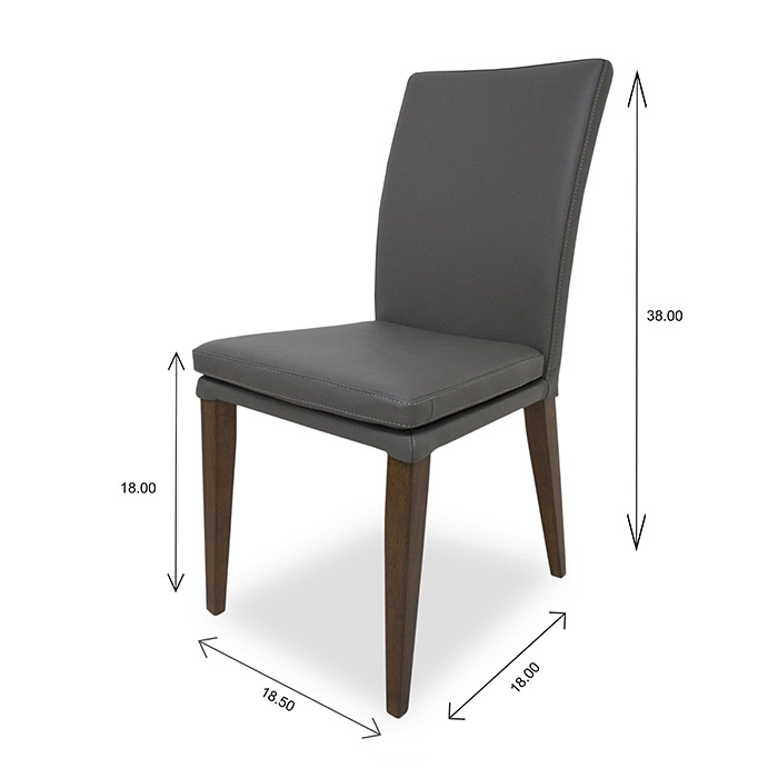 Nate Dining Chair Dimensions