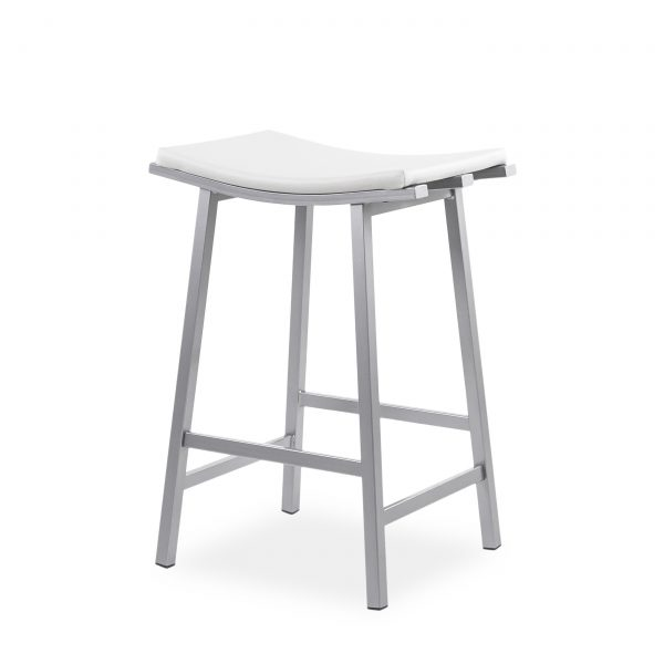 Nathan Counte Stool in Parchment, Angle, 2