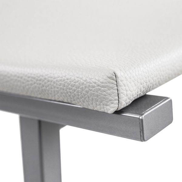 Nathan Counter Stool in Parchment, Close Up