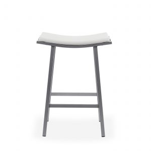 Nathan Counter Stool in Parchment, Front