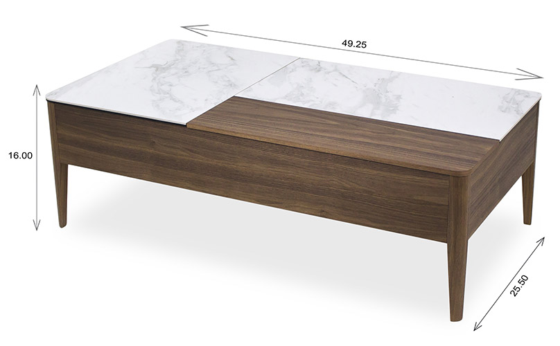Norman Coffee Table Dimensions