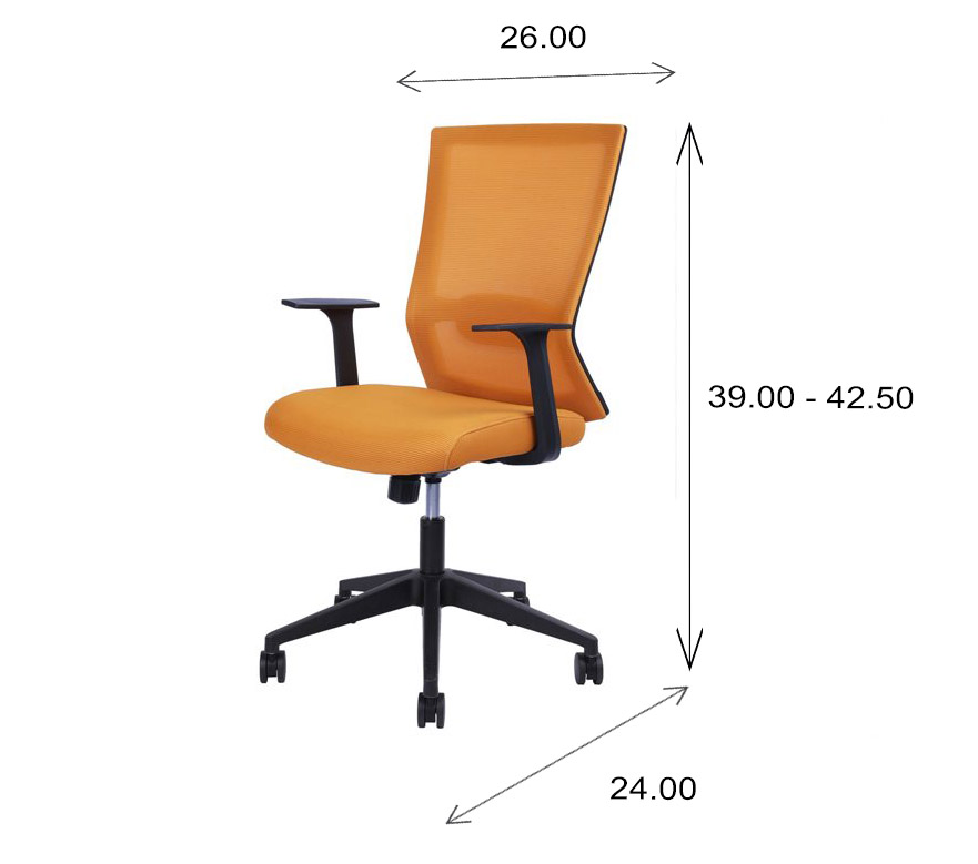 Rainbow Office Chair Dimensions