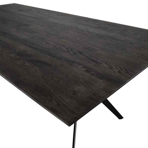 Sanctuary Dining Table in Wenge, Close Up