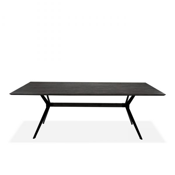 Sanctuary Dining Table in Wenge, Front