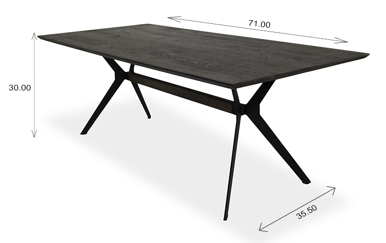 Sanctuary Dining Table Dimensions