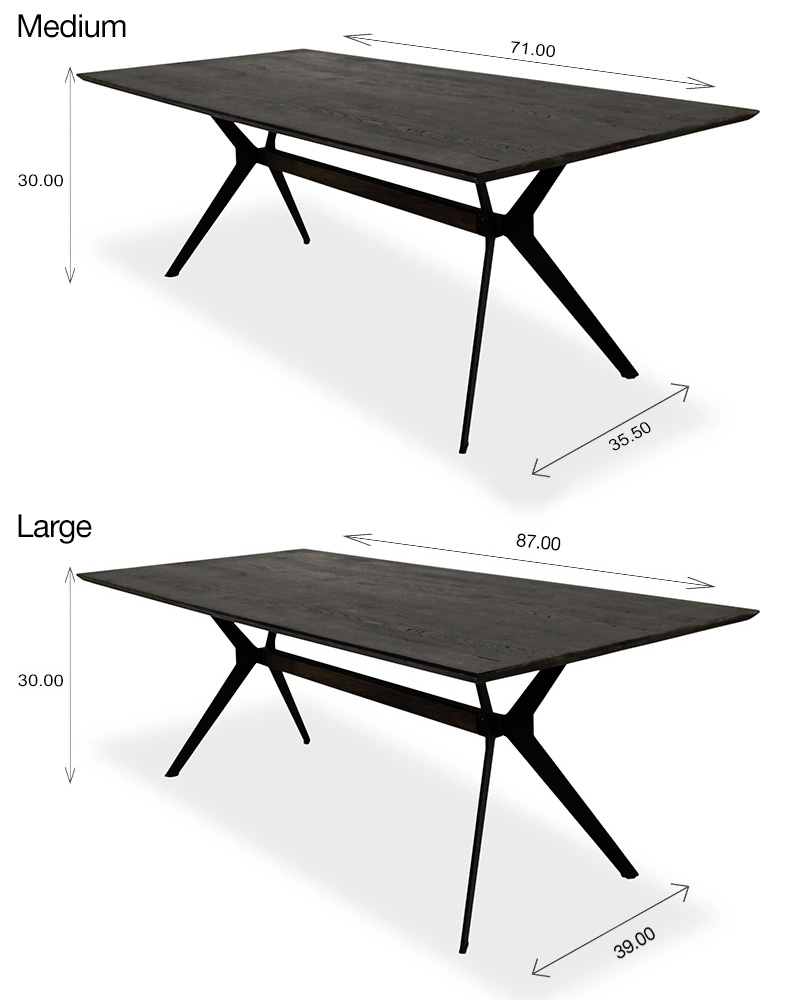 Sanctuary Dining Table Sizes