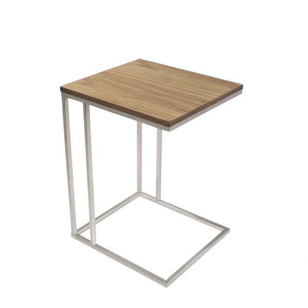 Solara Table Walnut, Side Profile