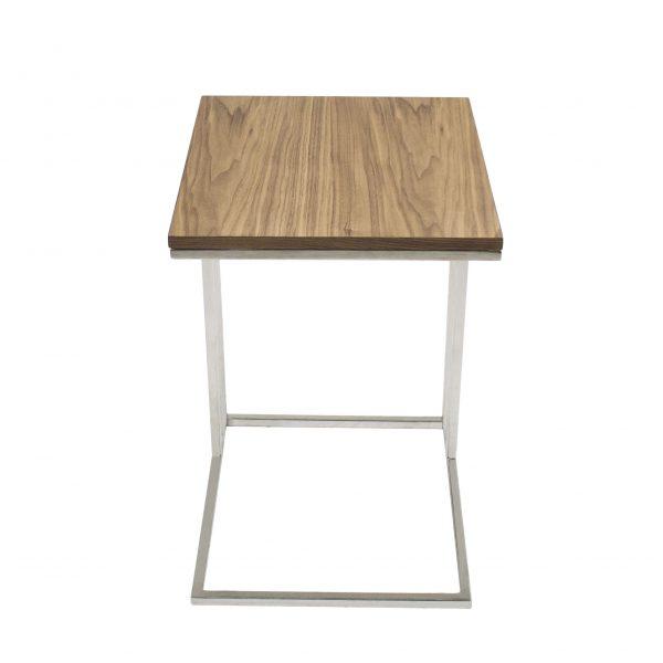 Solara Table Walnut, Front