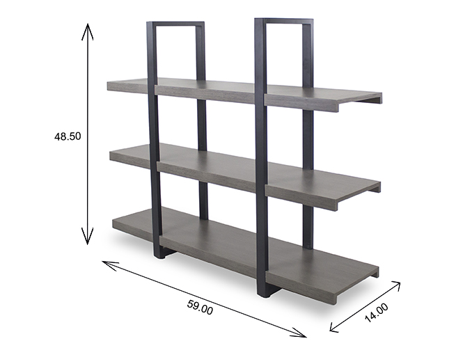 Stav Bookcase Short Dimensions