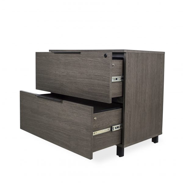 STAV File Cabinet, Drawers Open
