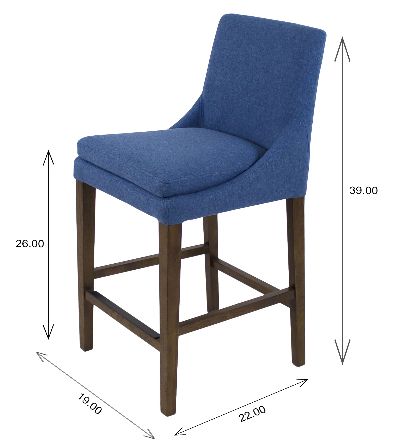 Terence Counter Stool Dimensions
