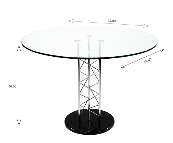 Trave Dining Table Dimensions