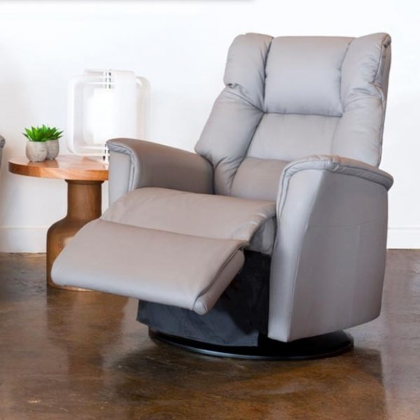 IMG Victor RMS Recliner in Trend Cinder, Reclined