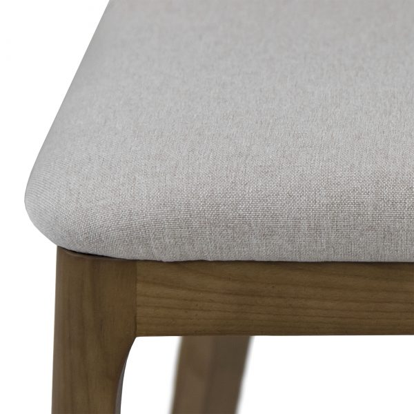 Will Dining Chair in Beige, Close Up