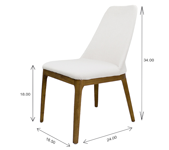 Will Dining Chair Dimensions