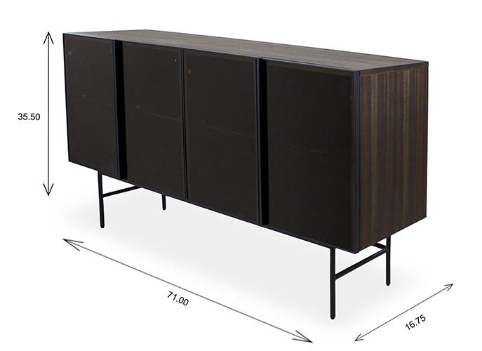 Aldo Sideboard Dimensions