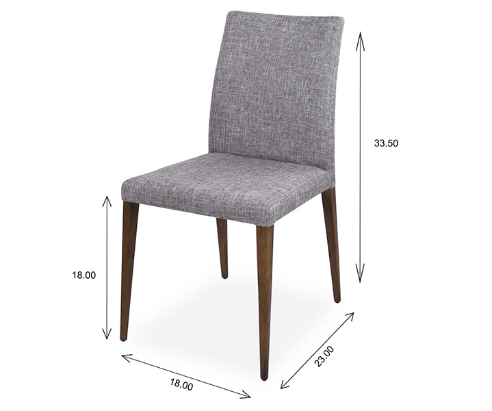 Alto Dining Chair Dimensions