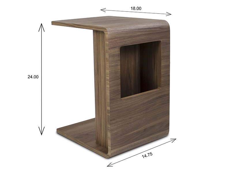 Archer Side Table Dimensions