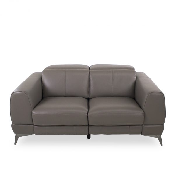Bidwell Loveseat in New Club Granite, Straight
