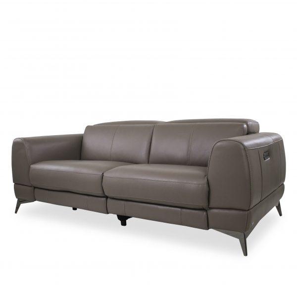 Bidwell Sofa in New Club Granite, Angle