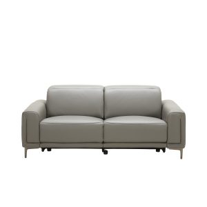 Cardero Sofa in Dark Grey M55 Leather, Front