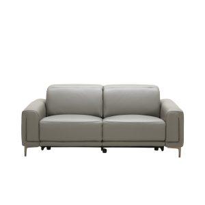 Cardero Sofa in Dark Grey M55 Leather, Front