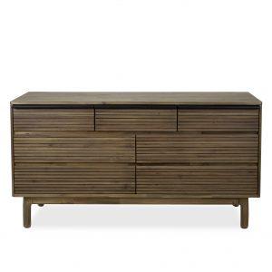 Crest Double Dresser, Front