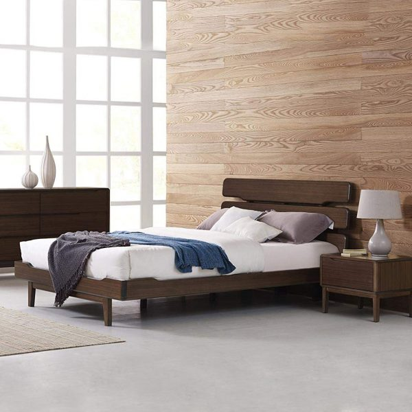 Greenington Currant Bed in Black Walnut in Bedroom