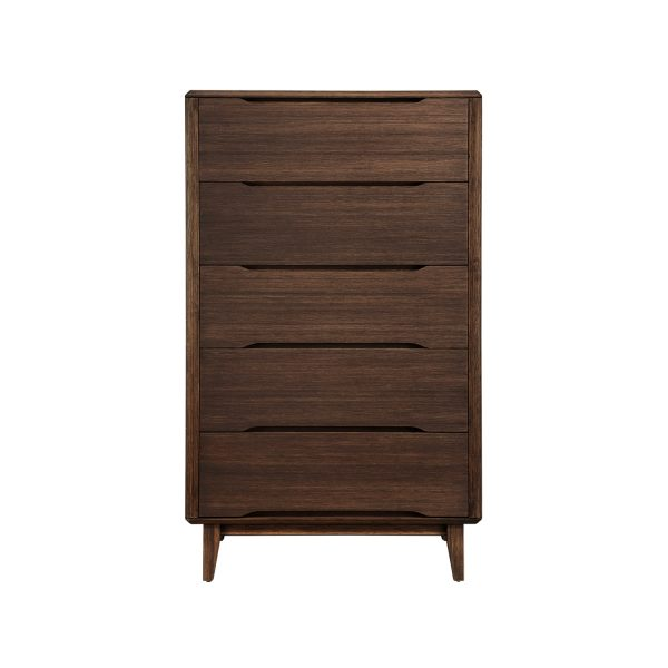 Greenington Currant Chest in Black Walnut, Front