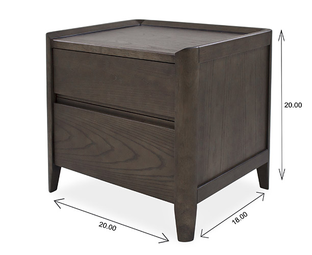 Emma Nightstand Dimensions