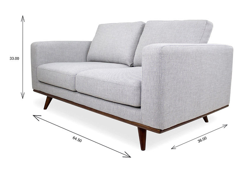 Freeman Loveseat Dimensions
