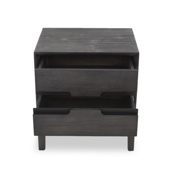 Gianni Night Table, Front, Drawer Open
