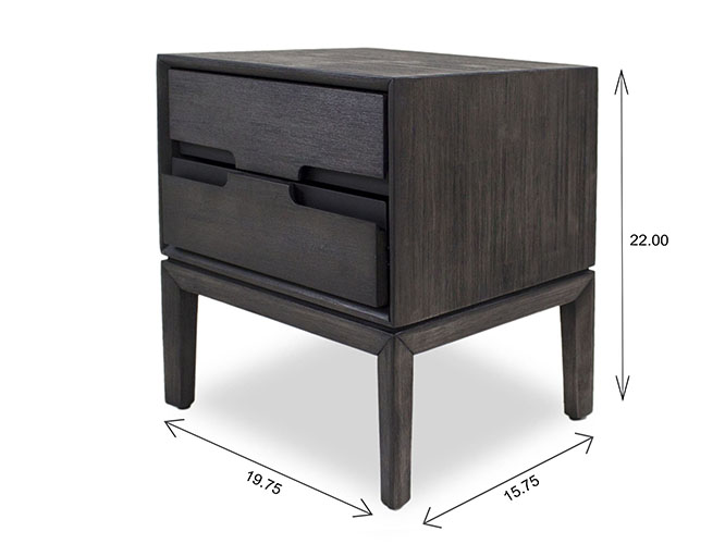 Gianni Night Table Dimensions