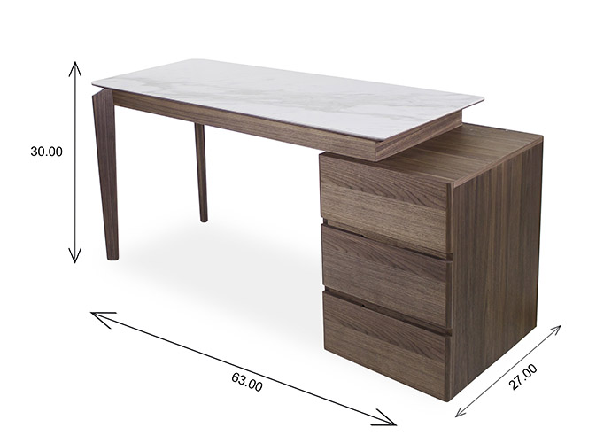 Ivy Desk Dimensions