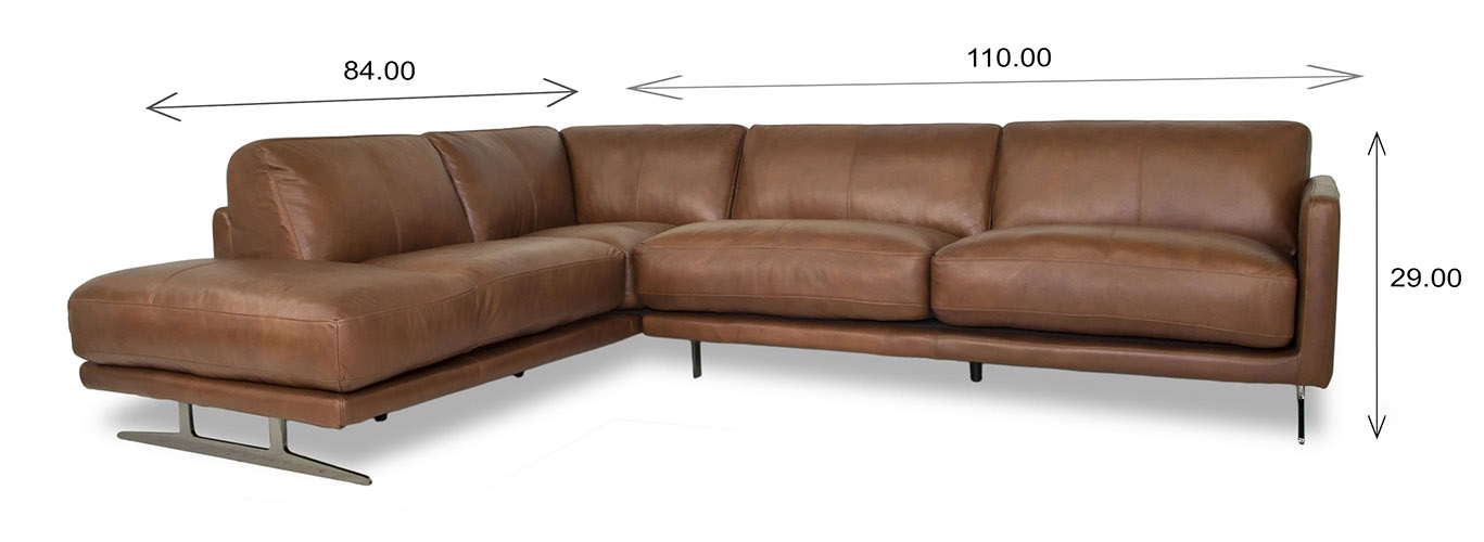 Larsen Sectional Dimensions
