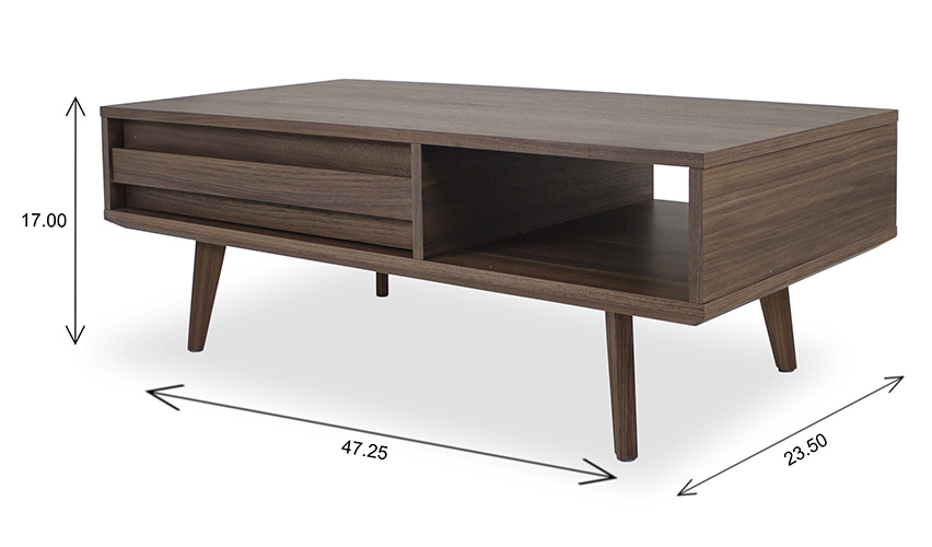 Liam Coffee Table Dimensions
