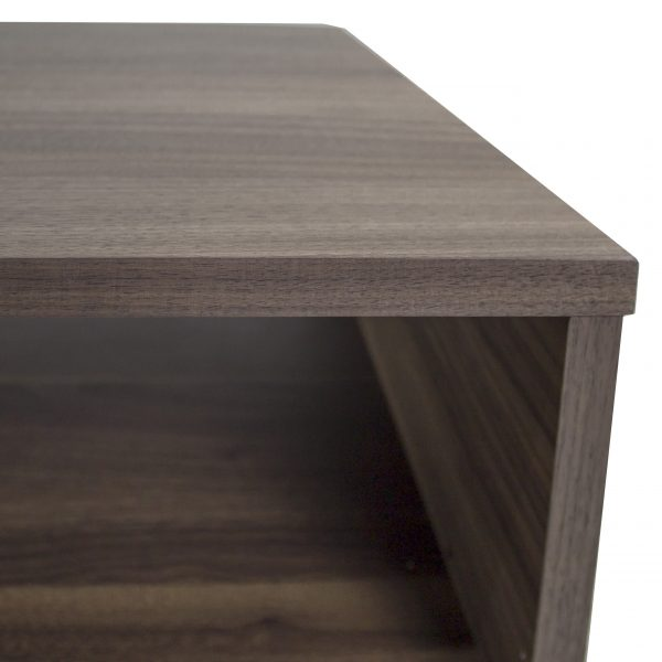 Liam Coffee Table in Walnut, Close Up
