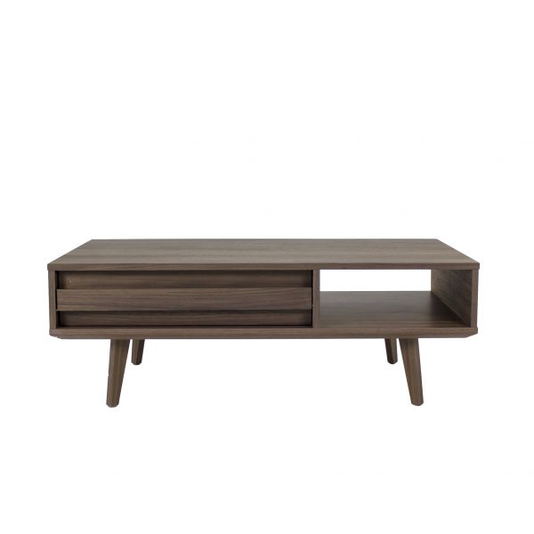 Liam Coffee Table in Walnut, Straight