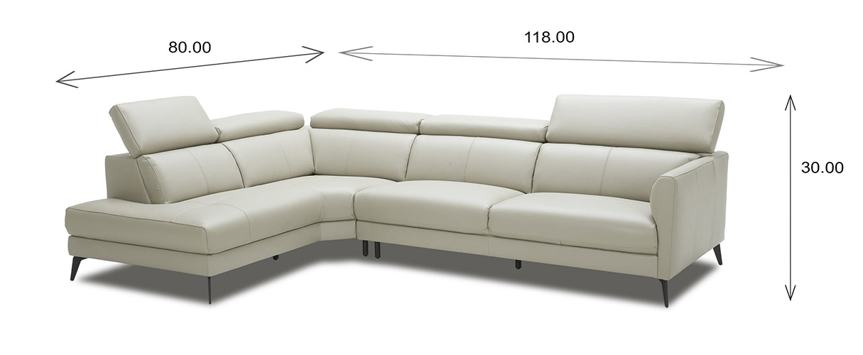 Marki Sectional Dimensions