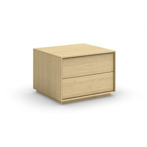 Mobican Azura Nightstand in Oak
