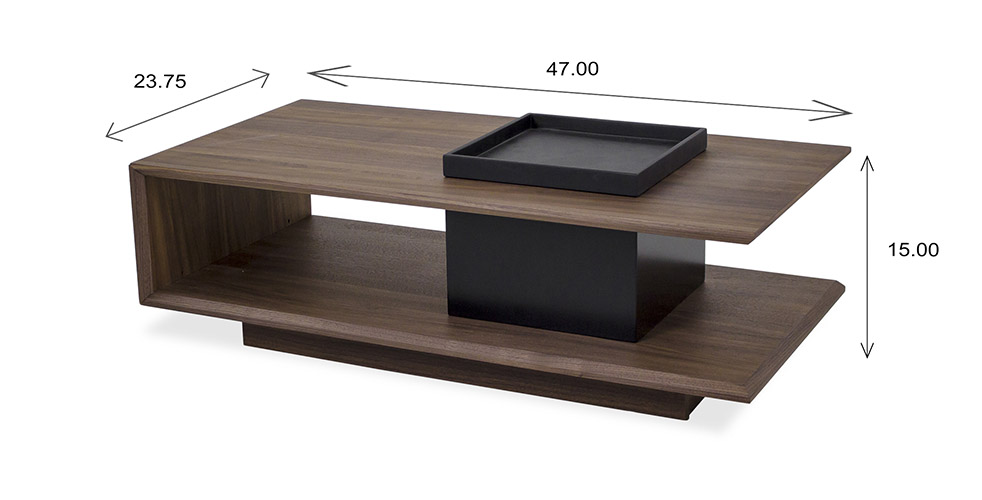 Nessa Coffee Table Dimensions