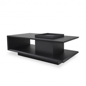 Nessa Coffee Table in Wenge, Angle