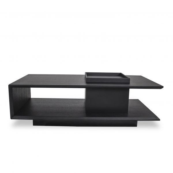 NNessa Coffee Table in Wenge, Straight