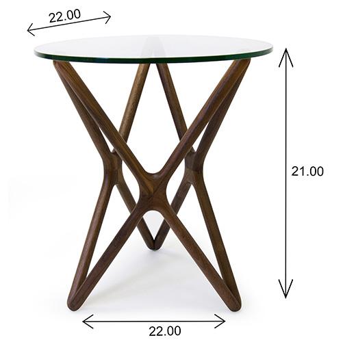 Nova End Table Dimensions