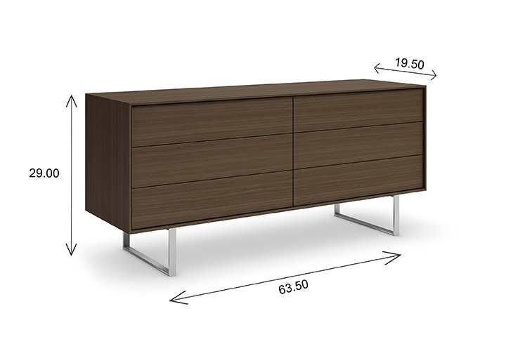 Mobican Ophelia Double Dresser Dimensions