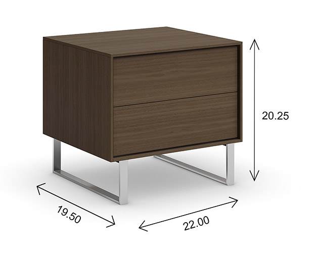 Mobican Ophelia Nightstand Dimensions