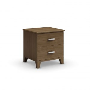 Mobican Sapporo Nightstand in Natural Walnut