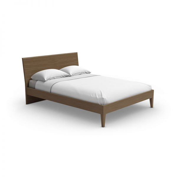 Mobican Sapporo Bed in Natural Walnut