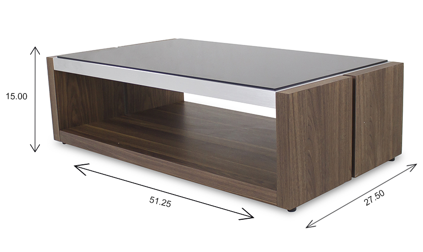 Violet Coffee Table Dimensions