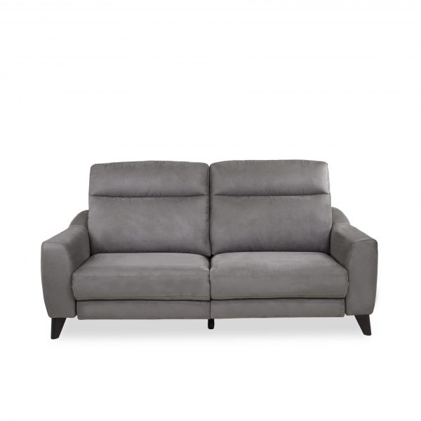 Alma Sofa in Maldives Dark Grey, Front